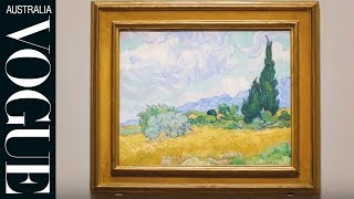 Download Van Gogh and The Seasons opens in Melbourne Video