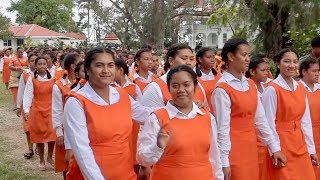 Download Tailulu College & Free Church of Tonga procession from the Royal Palace Video