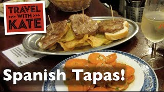 Download How Locals Do Tapas in Spain on Travel with Kate Video
