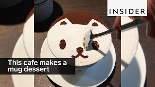 Download This cafe makes a flawless mug dessert Video