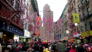 Download Chinese New Year 2017, NYC Chinatown, Lion Dance Video
