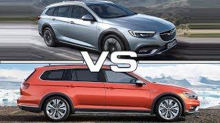 Download 2018 Opel Insignia Country Tourer vs 2017 Volkswagen Passat Alltrack Video