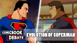 Download Evolution of Superman in Cartoons in 33 Minutes (2018) Video