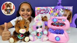 Download Fluffimals Fluffy Factory Machine DIY Make Your Own Teddy Bear & Bunny Video