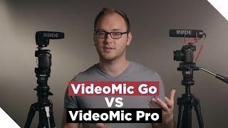 Download RODE VideoMic Go VS VideoMic Pro Video