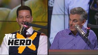 Download Chris Broussard on why it was right for Westbrook to win MVP, talks Paul George to Lakers | THE HERD Video