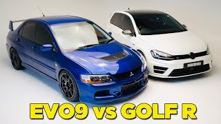 Download EVO 9 vs GOLF R Video