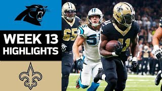 Download Panthers vs. Saints | NFL Week 13 Game Highlights Video