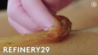 Download Why Sugaring Is The Best Type Of Hair Removal | Macro Beauty | Refinery29 Video