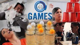 Download Minute to Win It Games: The 40 Greatest Party Games (PART 1) Video