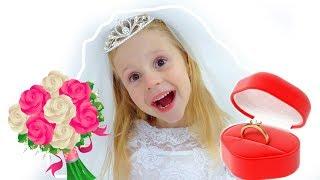 Download Настя как невеста и принцесса Video
