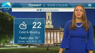 Download Thursday Evening Forecast Video