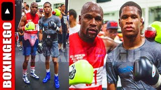Download FLOYD MAYWEATHER SPARRING DEVIN HANEY 6 ROUNDS (OMG!!) FLOYD NOT PLAYING W/ CONOR MCGREGOR Video