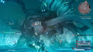 Download FINAL FANTASY XV - Behemoth King Boss Fight l Behemoth King Boss Battle Gameplay [PS4 Pro] Video