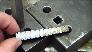 Download Machining 101: How to drill a square hole at home without special tools. Video
