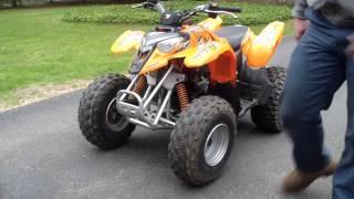 Download 2005 Polaris Predator 90cc ATV Video