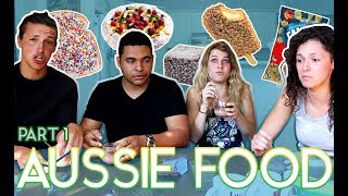 Download Americans & A Swede Trying Aussie Food Pt. 1 Video