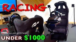 Download SIM Racing Rig: Racing Simulator Setup Under $1500 - Sim Racing Cockpit: Playseat Revolution G29 PS4 Video