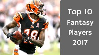 Download 2017 Fantasy Football: Top 10 Rankings Video