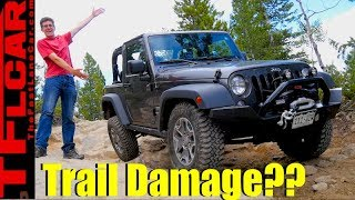 Download Tall Rocks, Low Jeep: Here's How a Stock Wrangler Takes on a Hard Trail Video