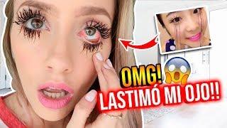 Download PROBANDO MASCARA VIRAL QUE ALARGA PESTAÑAS HASTA 1 METRO!   Katie Angel Video