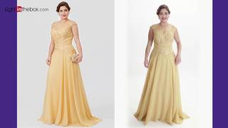 Download Top 10 Plus Size Mother of the Bride Dresses from LightInTheBox Video