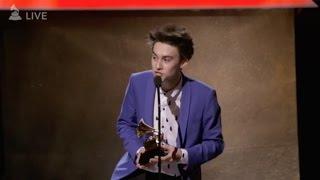 Download Jacob Collier GRAMMY Speech 2017 Video