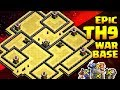 Download TH9 Anti 3 Star War Base 😱 Anti Lavaloon/Valk/Gohobo | Clash Of Clans Video