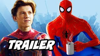 Download Spider-Man Into The Spider-Verse Trailer and Spider-Man Far From Home Trailer Explained Video
