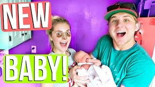 Download MEET THE NEW BABY! Video