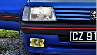 Download Peugeot 205 GTI 1.9 130 Bleu Miami - Rebelcar.fr Video