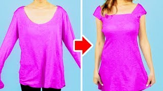 Download 35 CLOTHING HACKS TO UPGRADE YOUR LOOK FROM BORING INTO FRESH Video