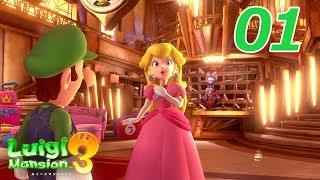 Download ルイージマンション3 (Luigi's Mansion 3) プレイpart1 Video
