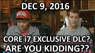 Download The WAN Show - Intel i7 Exclusive DLC & Illegal Game Modding! - December 9, 2016 Video