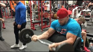 Download Unedited Arm Training at TigerFitness HQ with IFBB Pro Ryan Terry Video