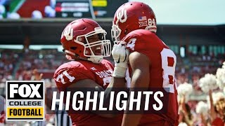 Download Oklahoma vs FAU | FOX COLLEGE FOOTBALL HIGHLIGHTS Video