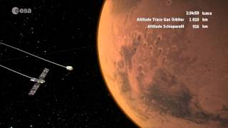 Download ExoMars 2016 arriving at Mars Video