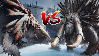 Download How to Train Your Dragon 2 - Alpha Bewilderbeast Vs Drago's Bewilderbeast with healthbars Video