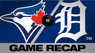 Download Guerrero, Stroman lead Blue Jays past Tigers   Blue Jays-Tigers Game Highlights 7/19/19 Video