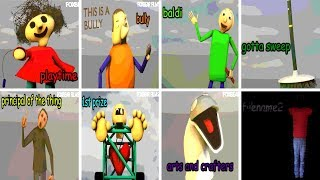 Download All Characters & Voices v1.3.2 - Baldi's Basics in Education and Learning (NEW) Video