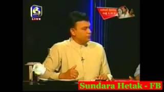 Download Swarnawahini Presanter Become Answerless Infront of Ranjan Ramanayake's Questions Video