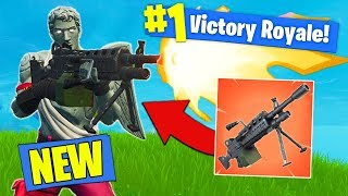 Download *NEW* EPIC LMG GAMEPLAY In Fortnite Battle Royale! Video