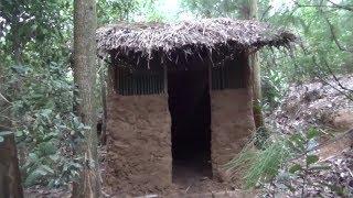 Download Primitive technology:Birds house-part 2-Primitive life-wilderness!!!😍 Video