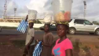 Download Walking to Centre of Monrovia, Liberia Video
