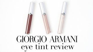 Download Giorgio Armani Eye Tint Review | Laura Neuzeth Video