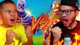 Download 1V1 MINDOFREZ VS 9 YEAR OLD BROTHER! BATTLE OF THE YEAR OMG! FORTNITE BATTLE ROYALE *NEW* PLAYGROUND Video