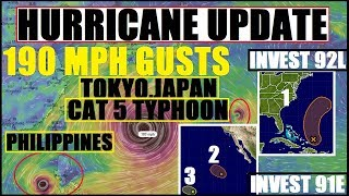 Download *BREAKING* CAT 5 TYPHOON JAPAN/PHILIPPINES, Hurricane PHILIPPE (ATLANTIC) HURRICANE SELMA (Pacific) Video