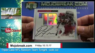 Download 2017 PANINI IMPECCABLE NFL 3 BOX CASE #7 Video