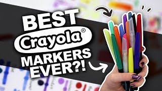 Download I'M IMPRESSED!! | Crayola Blending Markers Review | Copic Alternative Video