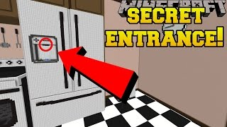 Download Minecraft: THE SECRET FRIDGE ENTRANCE!!! - Crack The Case - Custom Map [2] Video